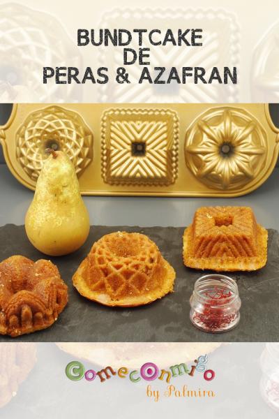 BUNDTCAKE DE PERAS & AZAFRAN