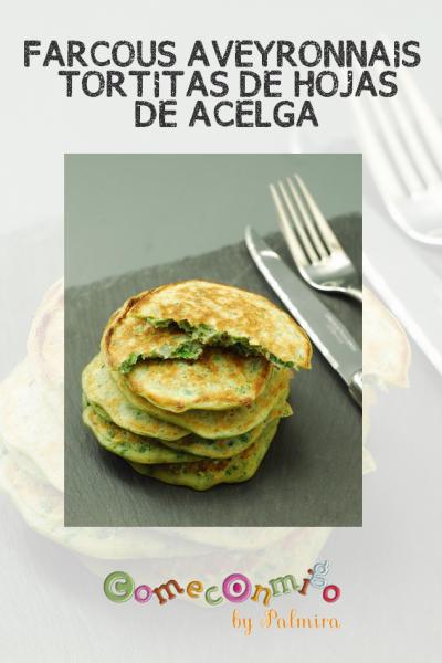 FARCOUS AVEYRONNAIS TORTITAS DE HOJAS DE ACELGA