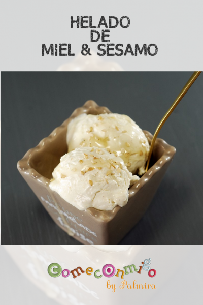 HELADO DE MIEL & SESAMO