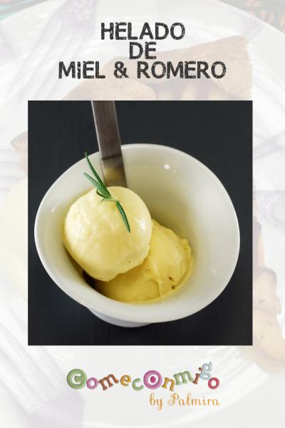 HELADO DE MIEL & ROMERO