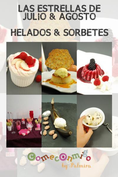 LAS ESTRELLAS DE JULIO & AGOSTO HELADOS & SORBETES