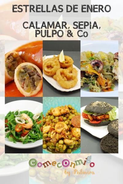 ESTRELLAS DE ENERO CALAMAR, SEPIA, PULPO & Co